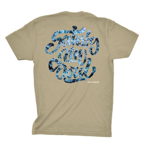 """Satisfy My Soul"" (Oceans Web) Tee"