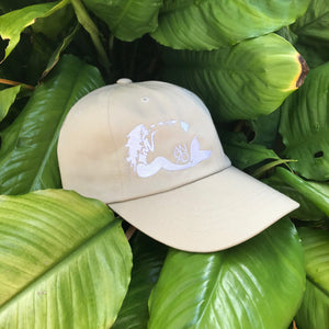 Mermaid Dad Hat - Sand