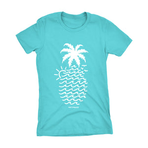 "Womens ""Wavy Pineapple"" Tee"