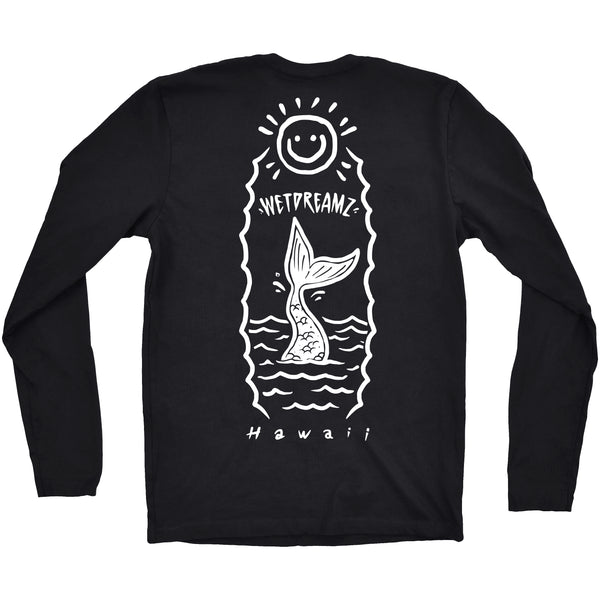 "Long Sleeve ""Happy Tail"" Tee"