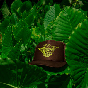 Yo Shaka - Brown Trucker
