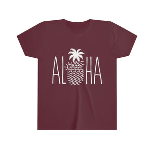 "Youth ""Wavy Pineapple Aloha"" Tee"