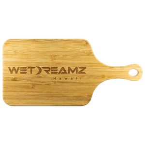 "Mini ""WD Logo"" Organic Bamboo Cutting Board"