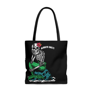 """Always Salty"" Tote Bag"
