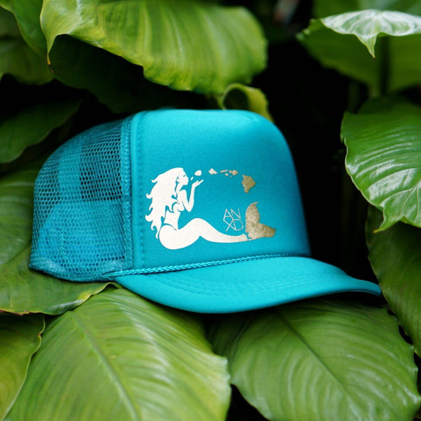 Mermaid Trucker - Seafoam