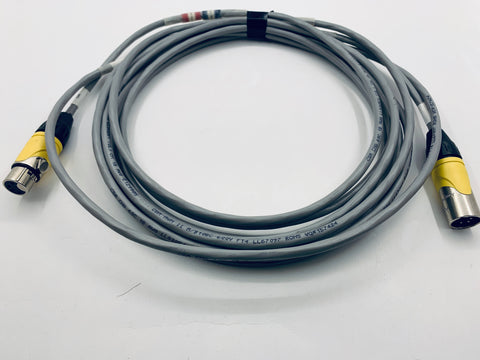 XLR4 cable and extension
