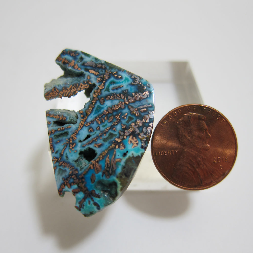 Blue Opal/Native Copper