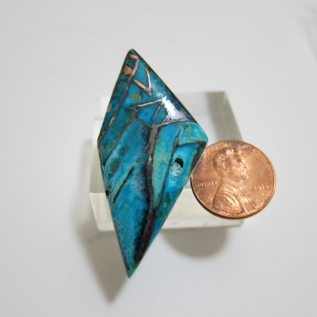 Blue Opal / Native Copper