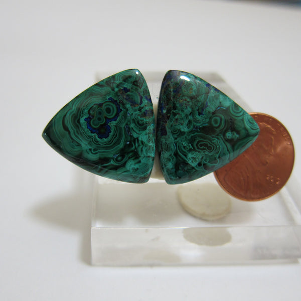 Azurite Malachite Pair V 456