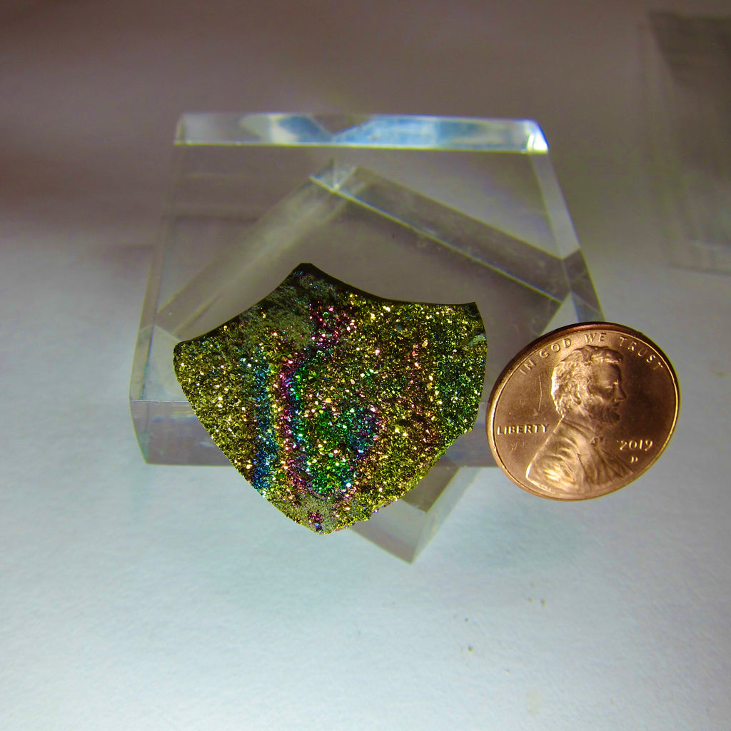 Russian Rainbow Pyrite V 534