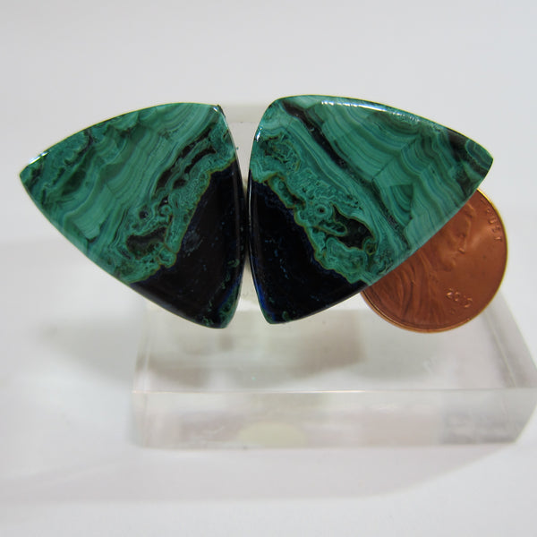 Azurite Malachite Pair V 463