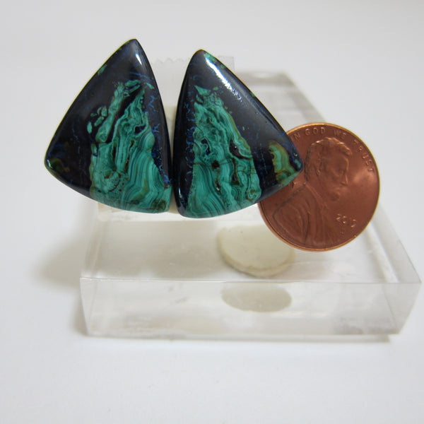 Azurite Malachite Pair v 458