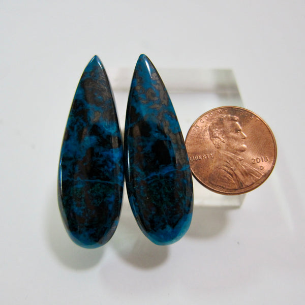 Azurite Malachite Pair V 626