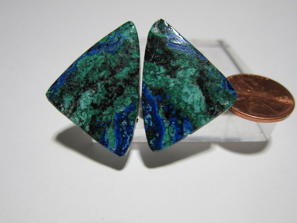 Azurite Malachite Pair - V 258