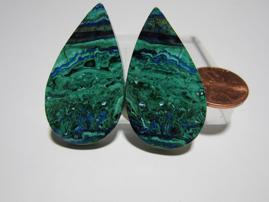 Azurite Malachite Pair V 259