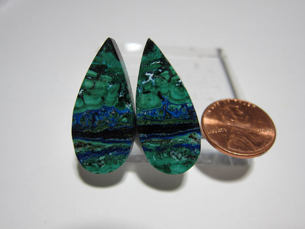 Azurite Malachite Pair V 263