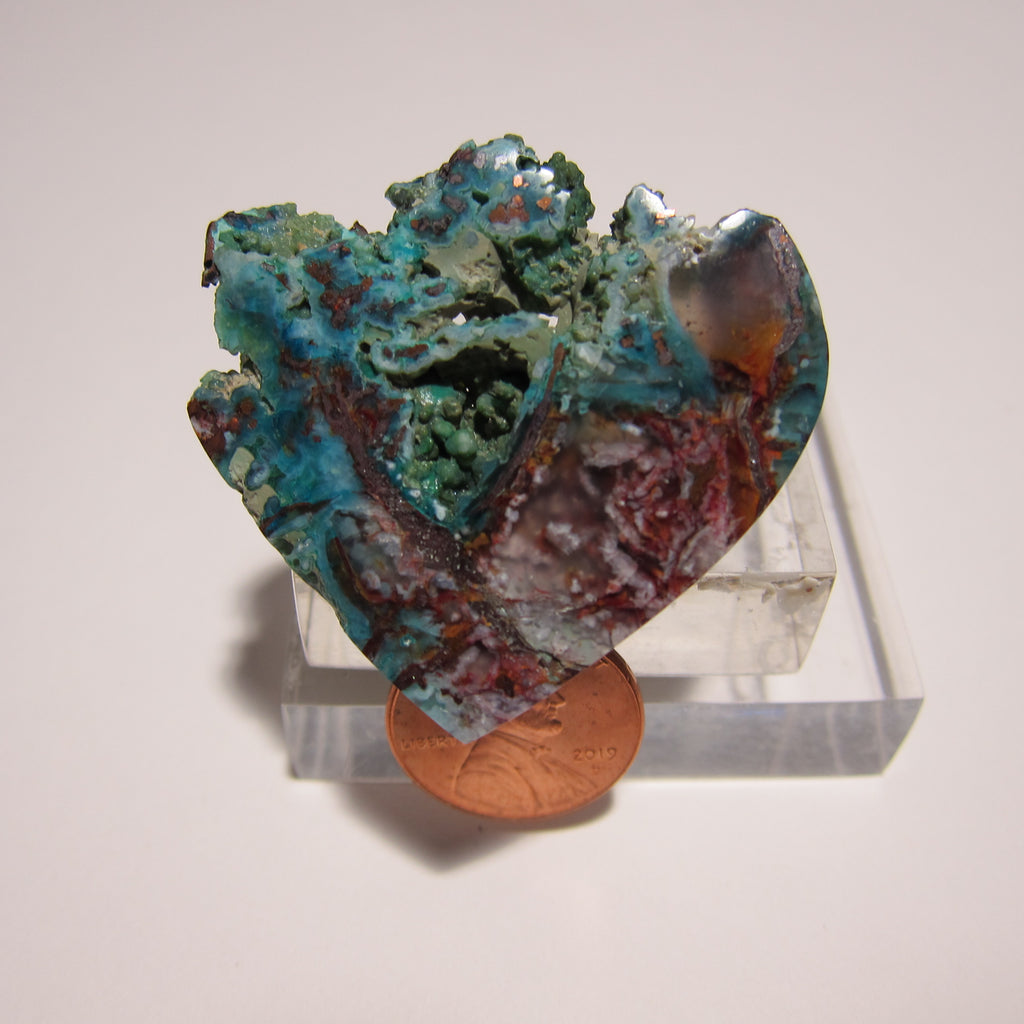 Blue Opal with Native Copper V 360