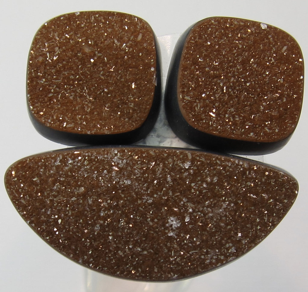Natural Colored Druzy X 50