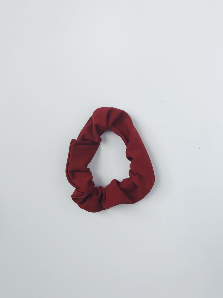 Scrunchie - Dark Red - L A G O O N DESIGNS