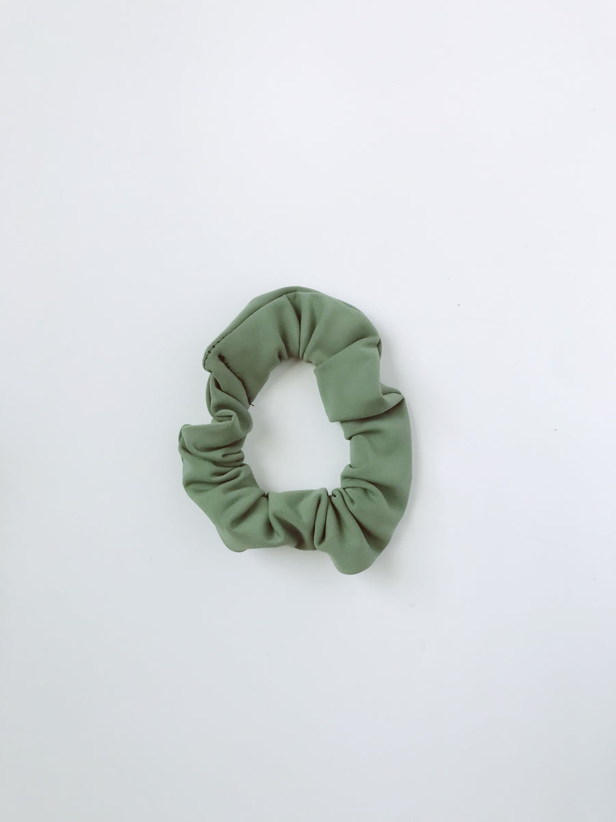 Scrunchie - Army Green - L A G O O N DESIGNS
