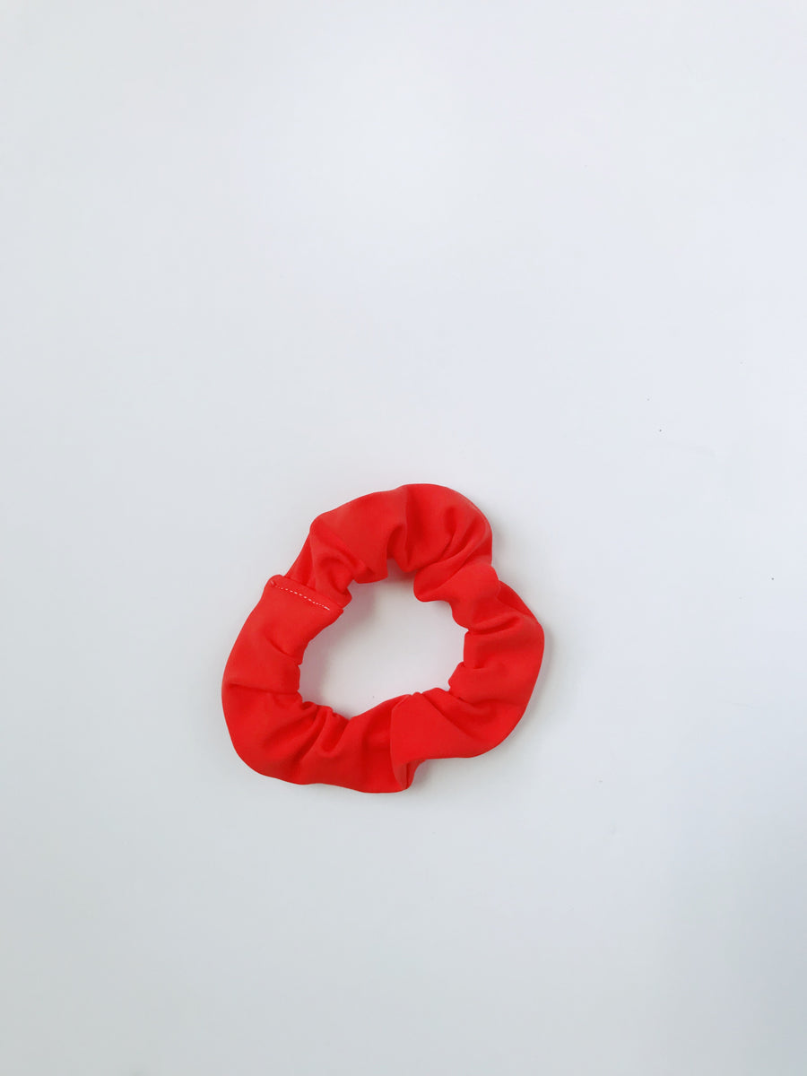 Scrunchie - Bright Orange - L A G O O N DESIGNS
