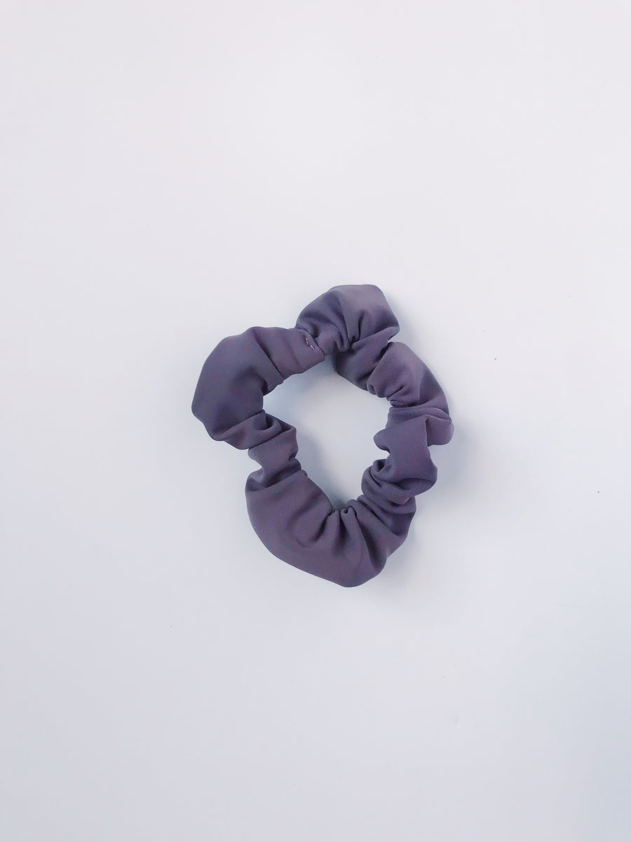 Scrunchie - Mauve purple - L A G O O N DESIGNS