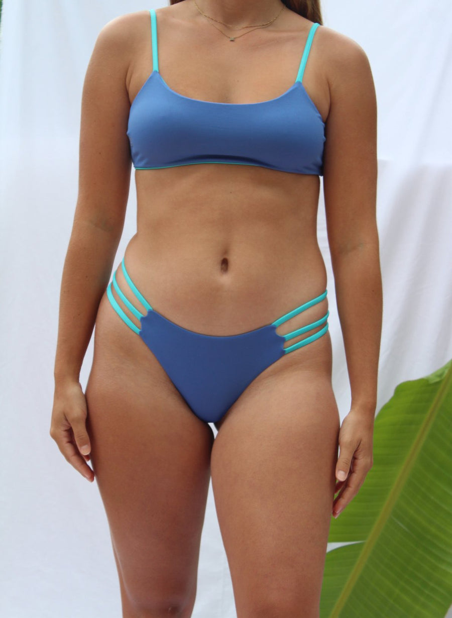 Anini Bottom in Ocean Blue