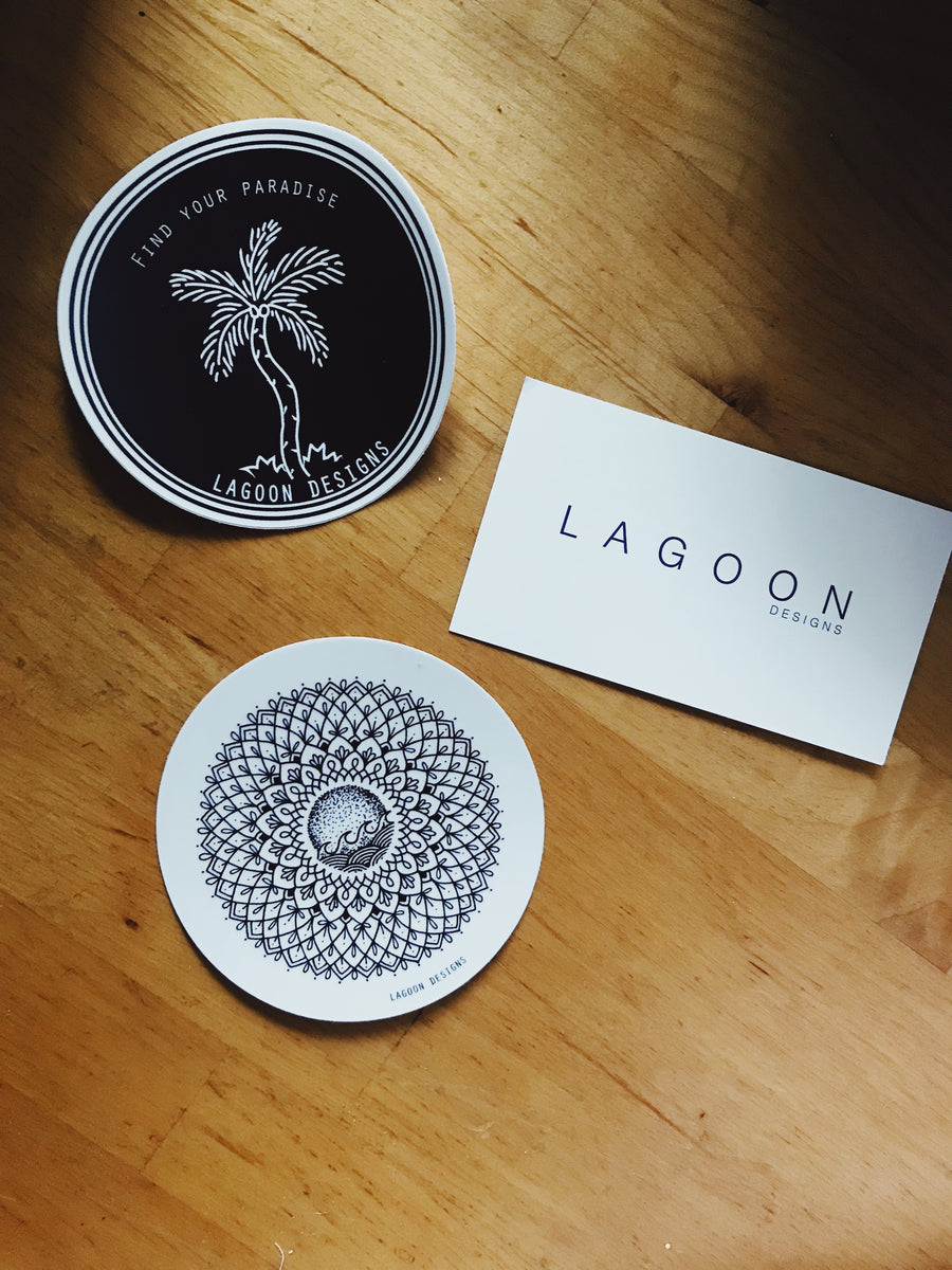Lagoon Sticker pack - L A G O O N DESIGNS