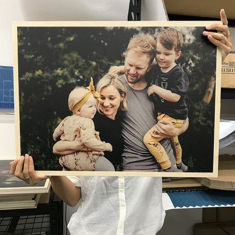 Arlo & Co custom wood prints make beautiful, unique, and meaningful Valentines Day presents