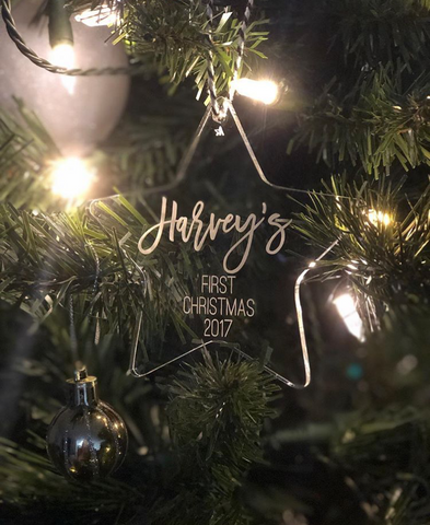 Arlo & Co Christmas ornaments