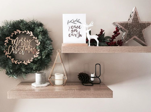 Arlo & Co Merry Christmas Wreath