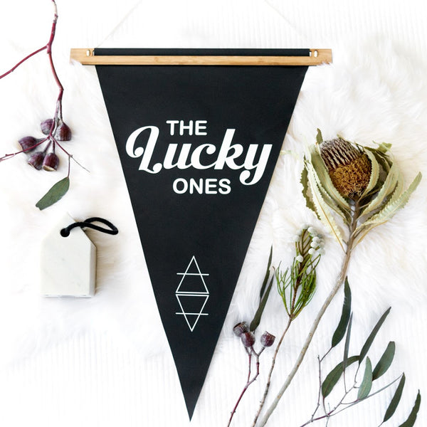 THE LUCKY ONES PENNANT
