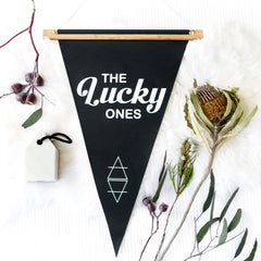 THE LUCKY ONES PENNANT - Arlo and Co - 1