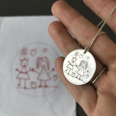 Artwork Pendant Necklace - Arlo and Co
