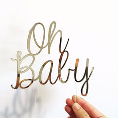 Baby Shower Cake Topper - Arlo and Co