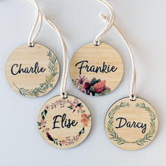 Botanical Bag Tag - Arlo and Co