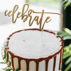 Celebrate Cake Topper - Arlo and Co