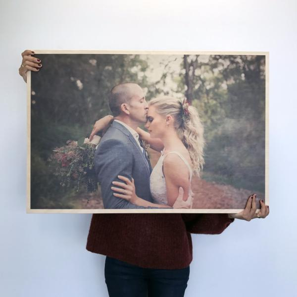 Custom Wood Print - Extra Large