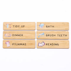 Evening Routine Magnet Set - Arlo & Co