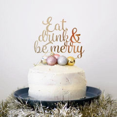 Festive Cake Topper - Arlo & Co