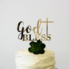 God Bless Cake Topper - Arlo and Co