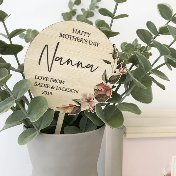 MOTHER'S DAY PLANTER STICK