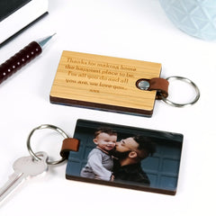 Luxe Photo Keytag - Arlo & Co