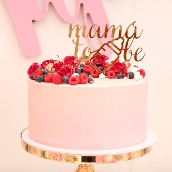 'Mama To Be' Cake Topper