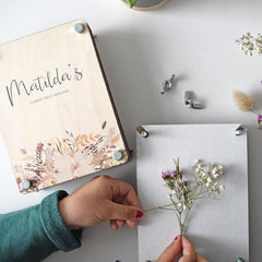 Personalised Flower Press - Arlo and Co