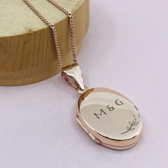 Personalised Locket Necklace - Large - Arlo and Co