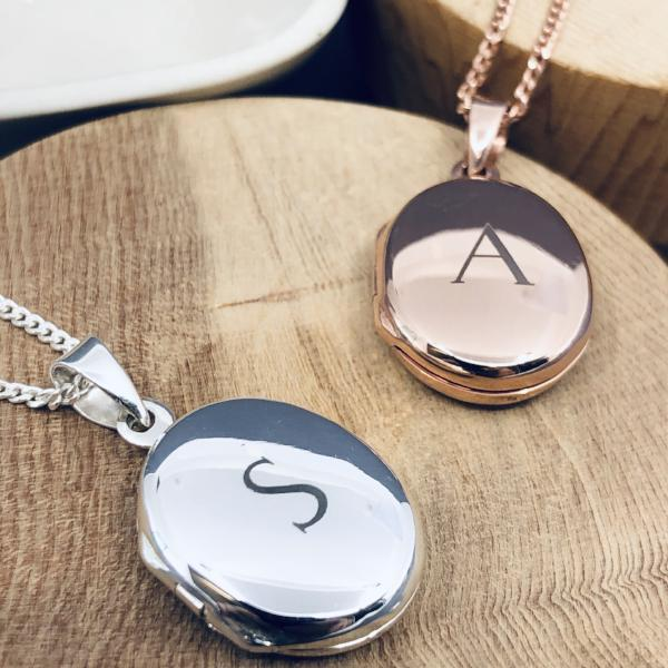 Personalised Locket Necklace - Small