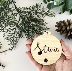 Personalised Ornament - Cursive Font - Arlo & Co