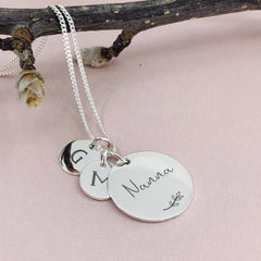 Personalised Pendant Necklace - Arlo and Co