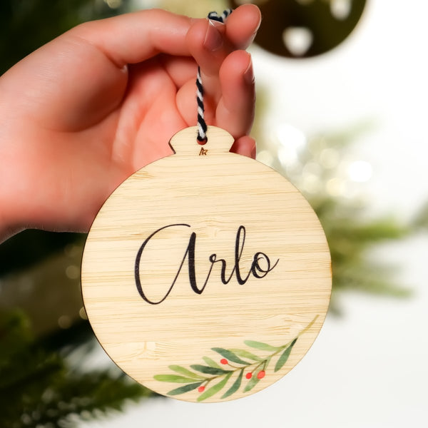 Printed Christmas Ornament
